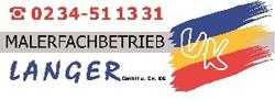 Malerbetrieb Bochum | Anstrich Langer GmbH & Co KG Logo